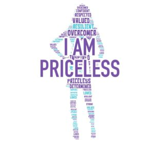 I Am Priceless logo